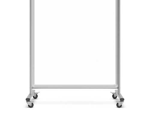 Mobile Clear Acrylic Room Divider / Sneeze Guard