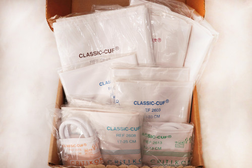 CLASSIC-CUFF ASSORTMENT PACK, 2692, VARIOUS, SUBMIN(10/BOX)