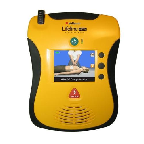 Defibtech Lifeline VIEW Defibrillator (DCF-A2310EN)