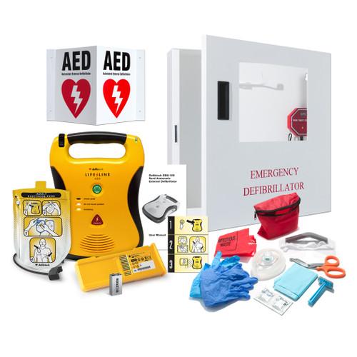 Defibtech Lifeline ECG AED Defibrillator (DDU-2450)