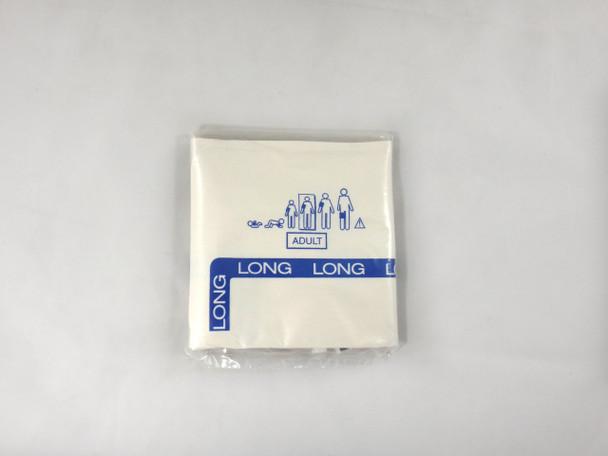 GE Critikon Blood Pressure Cuff Soft-Cuf 2454 Adult Long (20 Per Box)