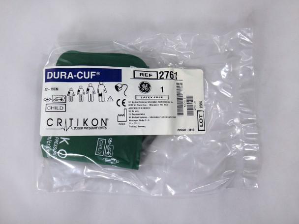 GE Critikon Blood Pressure Cuff Dura-Cuf 2761 (SINGLE CUFF) Child