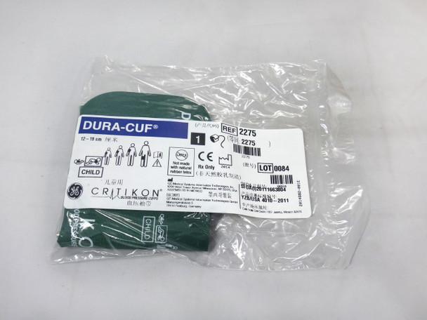 GE Critikon DURA-CUF 2275, Child, BP Cuff (5/box)