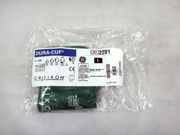 GE Critikon DURA-CUF 2201, Child, BP Cuff (SINGLE CUFF)