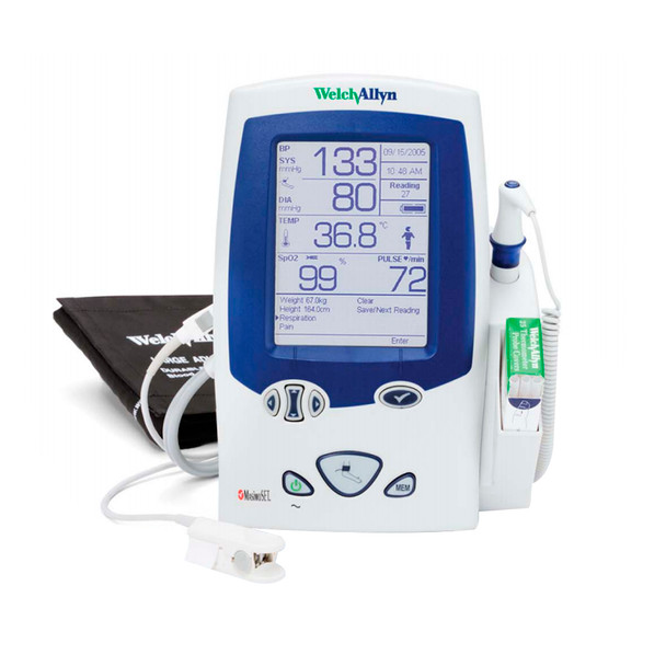 Welch Allyn Spot Vital Signs LXi Monitor 450E0-E1