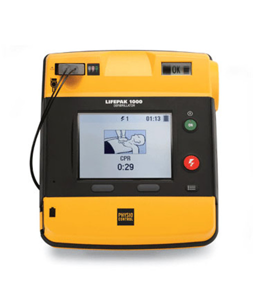Physio-Control LIFEPAK 1000 Defibrillator with ECG Display 99425-000025