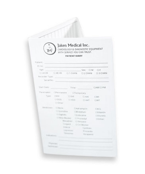 Patient Diary for Holter-EKG Monitoring (HM-PD)