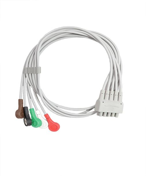 GE Multi-Link ECG Leadwire (411202-001)