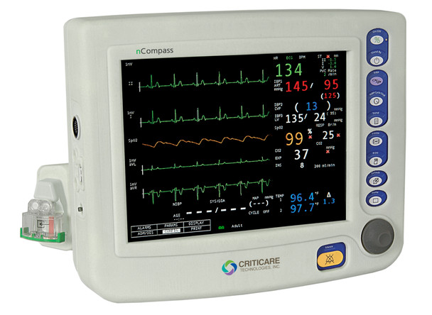 Criticare nCompass 8100H Series Patient Monitor (81H000XD )