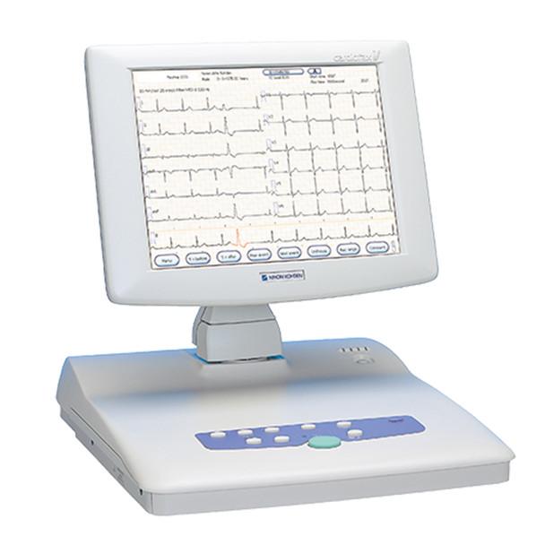 Nihon Kohden Cardiofax V 1550K EKG Machine