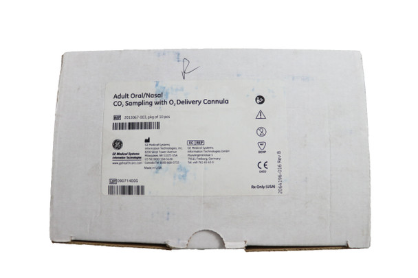 Adult Oral/Nasal CO2 Sampling with O2 Delivery Cannula 10/box (2013067-003)