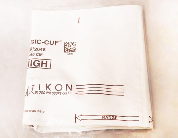 CLASSIC-CUF, Single Cuf, 2648, THIGH, 2TB, BROWN, SCREW