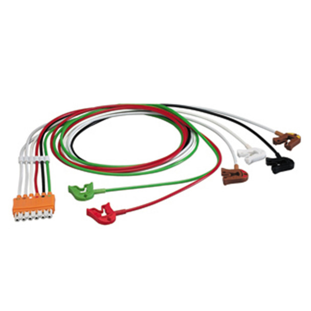 Hewlett Packard Philips 6 Lead Set for M1665A Trunk Cable