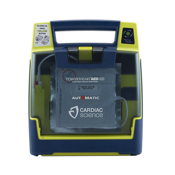 Cardiac Science Powerheart AED G3 Plus Semi-Automatic
