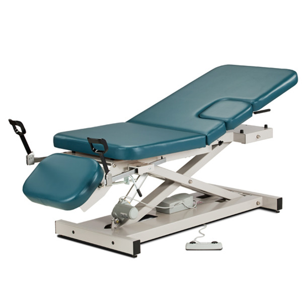 Clinton Industries Multi-Use Power Imaging Table with Stirrups