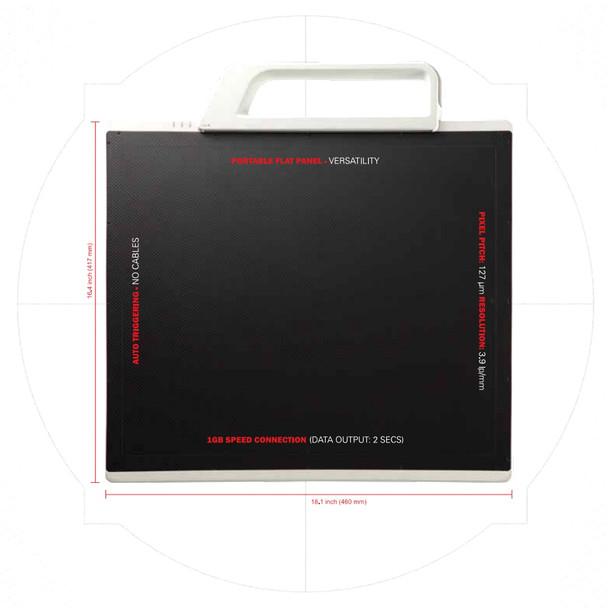 Rayence XMARU 1417 PCA DR Panel
