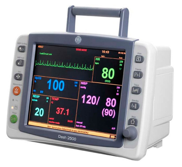 GE Dash 2500 Patient Monitor Rental