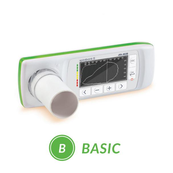 MIR Spirobank II® Basic Spirometer (911021)