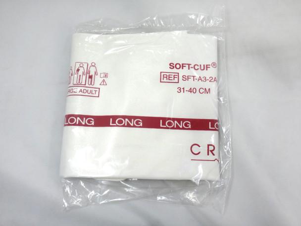 GE Critikon SOFT-CUF, Large Adult Long BP Cuff, SFT-A3-2A-L