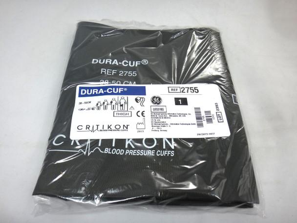 GE Critikon DURA-CUF 2755,Thigh, BP Cuff (SINGLE CUFF)