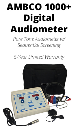 Jaken Medical AMBCO 1000+ Digital Audiometer