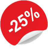 25% Flash sale