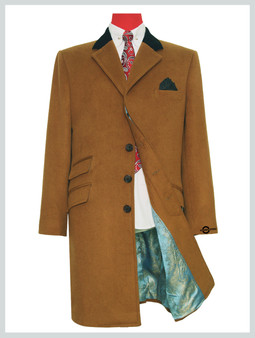 overcoat mens|  60s mod winter wool camel over coat