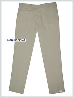 sta press trousers| 60s mod classic cream mens trouser