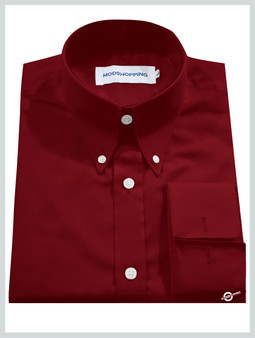 High Collar Red Shirt| Formal Shirts For Men