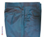 two tone tonic trouser | orange and light sea green two tone mod style 60s tailored trouser for men