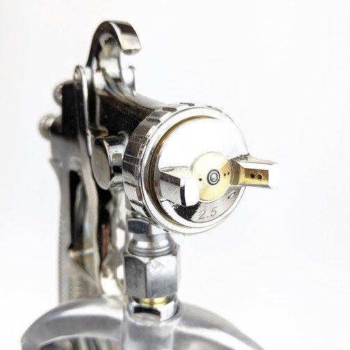 Velocity High Performance Suction Feed Spray Gun 2.5mm with 1L Aluminium Cup