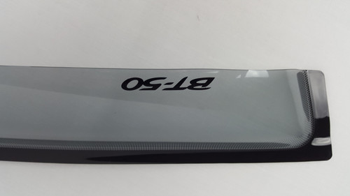 New Genuine Mazda BT-50 Weathershield Front Pair BT50 UP DUAL 2011-15 UP11ACWSSF