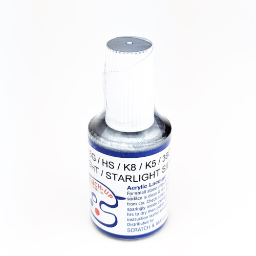 18G HS K8 K5 38C 30G Highlight Starlight Silver Touch Up Paint For Mazda 2 3 6