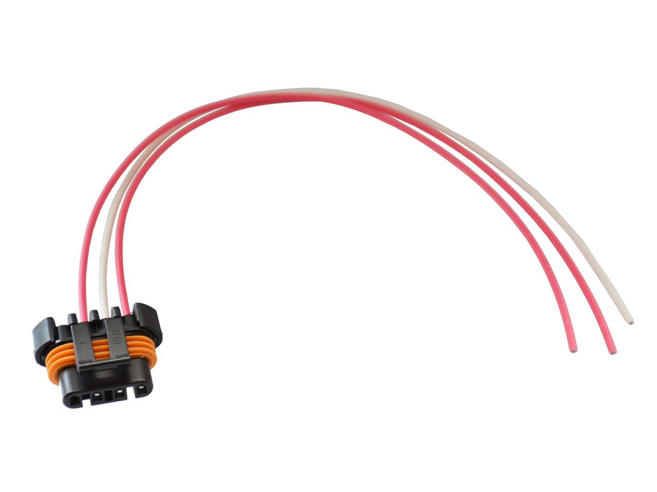 alternator wire connector plug pigtail fits corvette vette c5 c6 ls1 ls6  ls2 ls3 ls7 1989