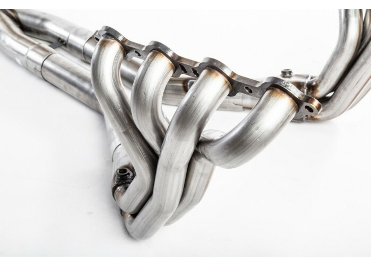 "TPS C6 Z06 LS7 ZR1 LS9 Corvette 1-7/8"" Long Tube Headers with Catted X-pipe"