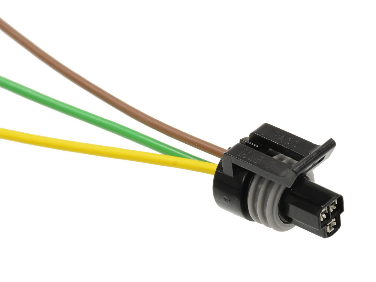 Ls1 Coolant Temperature Temp Sensor Connector Harness 3 Wire Fits Gm Duramax Fuel Filter Water