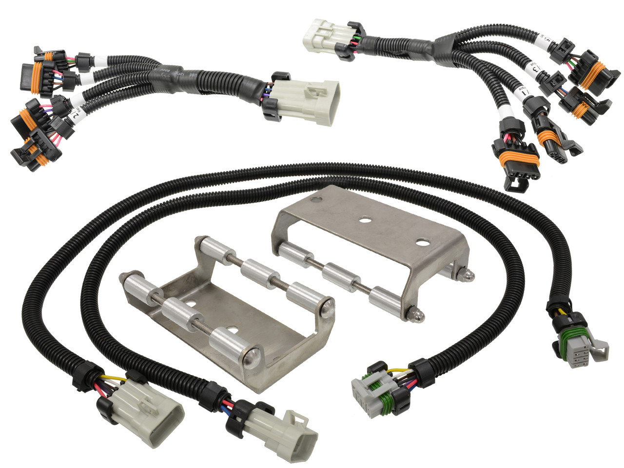 Coil Pack Relocation Bracket Kit With Stainless Steel Brackets And Ls Engine Wiring Ls1