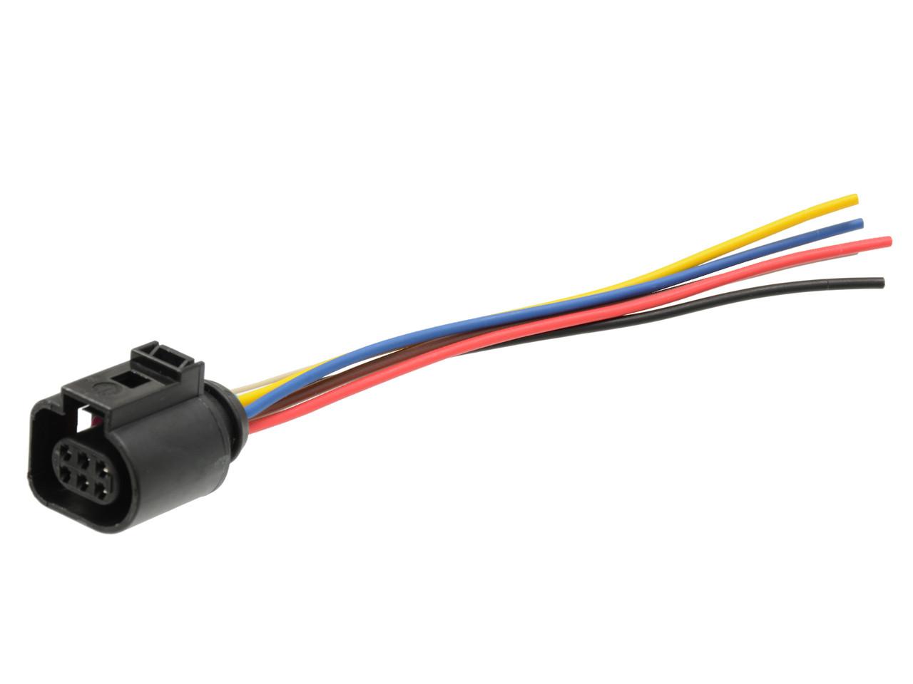 cooling fan control module pigtail connector fits audi tt vw jetta golf mk4  beetle vw skoda 1j0973713