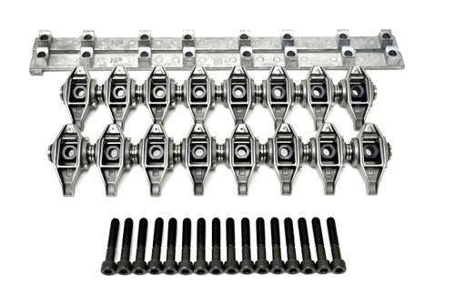 LS1 Rocker Arm with upgraded Trunions Installed and Support Stands Fits 4.8 5.3 5.7 6.0 LS2 LS6 LQ4 LQ9 LY5 LM7 L33