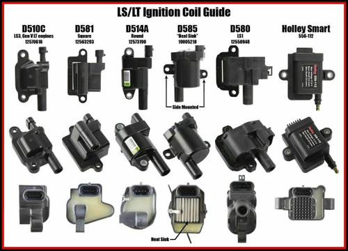 """LS1 LS6 Ignition Coil Extension Harness for Relocation Brackets 36"""" 8 coils"""