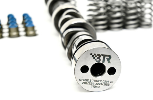 Brian Tooley BTR Stage 3 Truck Camshaft Kit  Includes Springs, Seals, Gaskets and Pushrods 4.8 5.3 6.0 6.2