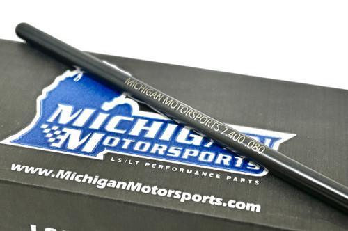 "Michigan Motorsports LS 7.400"" Chromoly Pushrods 5/16 Diameter 4.8 5.3 5.7 6.0 6.2 LS1 LS2 LS3 LS4 LS6 L76 L92 L99 LQ4 LQ9 L33 LSA"