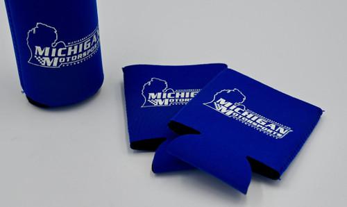 Michigan Motorsports Koozie with Logo