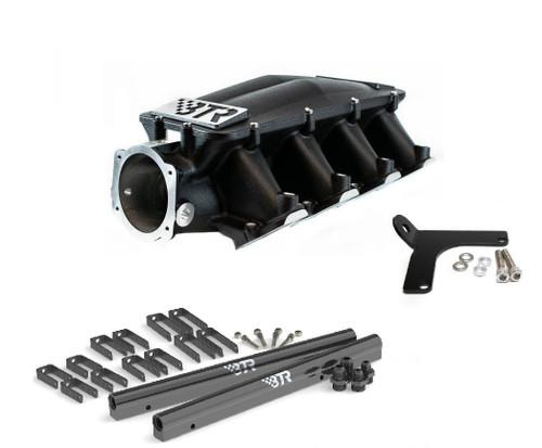 BTR Black Equalizer 1 Intake Manifold - Cathedral Head Brian Tooley IMA-01 LS1 LS2 LS6 4.8 5.3 5.7 6.0