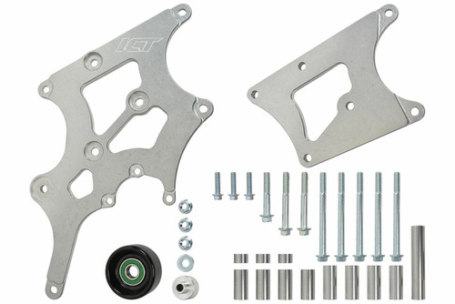 LS Swap Alternator & Power Steering Bracket Kit Camaro LS1 GTO LS2 Compatible with BMW 330i E46