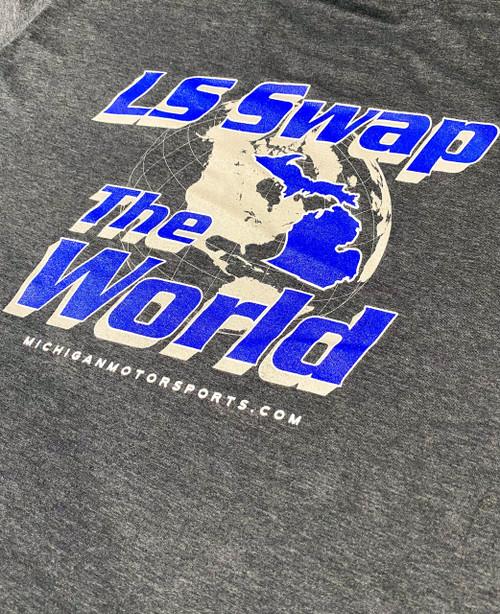 LS Swap The World Michigan Motorsports T-Shirt