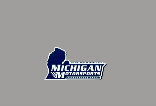 "Michigan Motorsports Tool Box Magnet 3"" x 1.69"""