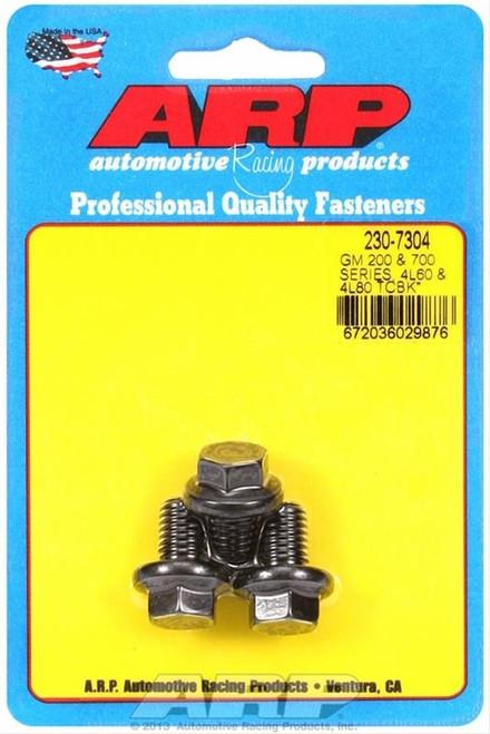 ARP 230-7304 Torque Converter Bolts 10mm x 1.5 Hex 8740 Chromoly Fits 200-4R 700R4 4L60 4L60E 4L80E Set of 3