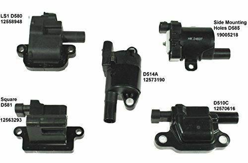 Gen V D510C Billet Coil Relocation Brackets and coil harness for LT1 LT4 L83 L8B L86