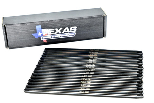 "Texas Speed Gen 5 V  7.850"" Chromoly Pushrods 3/8 Diameter 5.3 6.2 LT1 LT4 L83 L8B L86"
